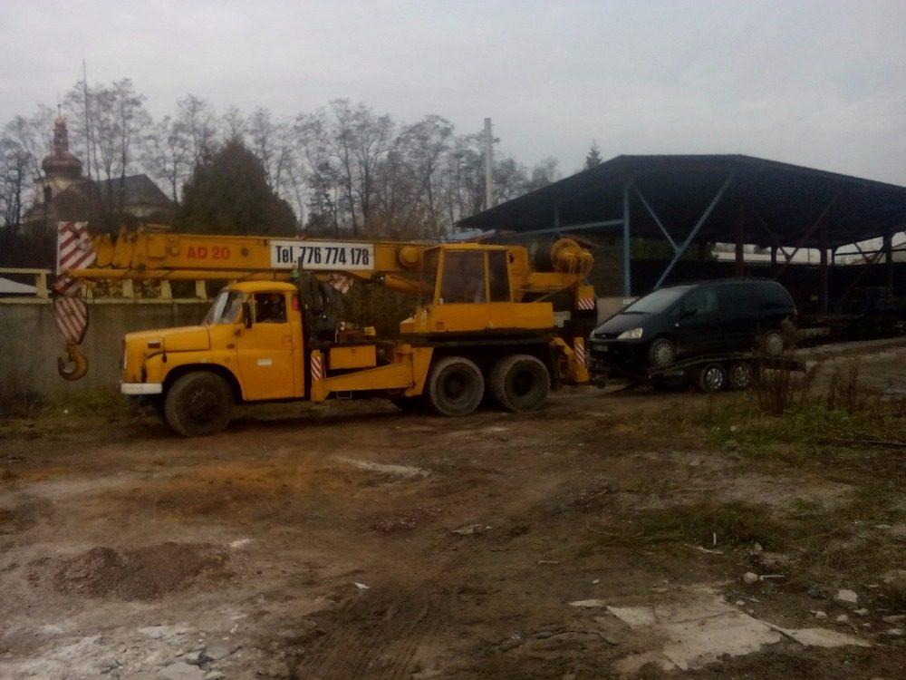 Choceň demontáž betonárky (3)